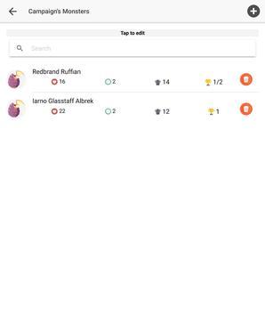 D&D Tool - Initiative Tracker screenshot 20