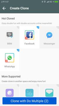 DO Multiple Accounts - Infinite Parallel Clone Pro screenshot 5