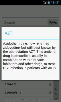 Medical Dictionary En screenshot 1
