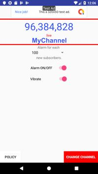 Subscribers Alert Tracking screenshot 1