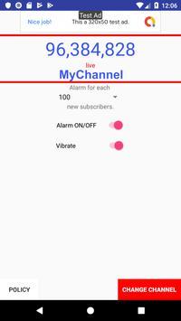 Subscribers Alert Tracking screenshot 2