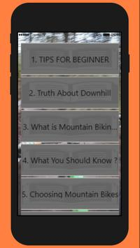 Guide for Beginners Downhill Bikers poster