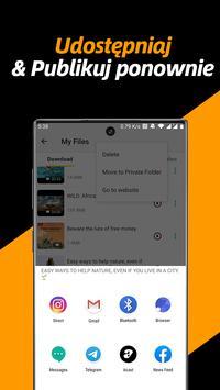 Pobieranie wideo, Plik prywatny Pobieranie i Saver screenshot 4