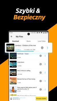 Pobieranie wideo, Plik prywatny Pobieranie i Saver screenshot 2