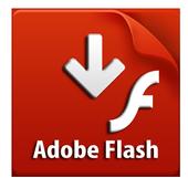 new adobe flash player update helper icon