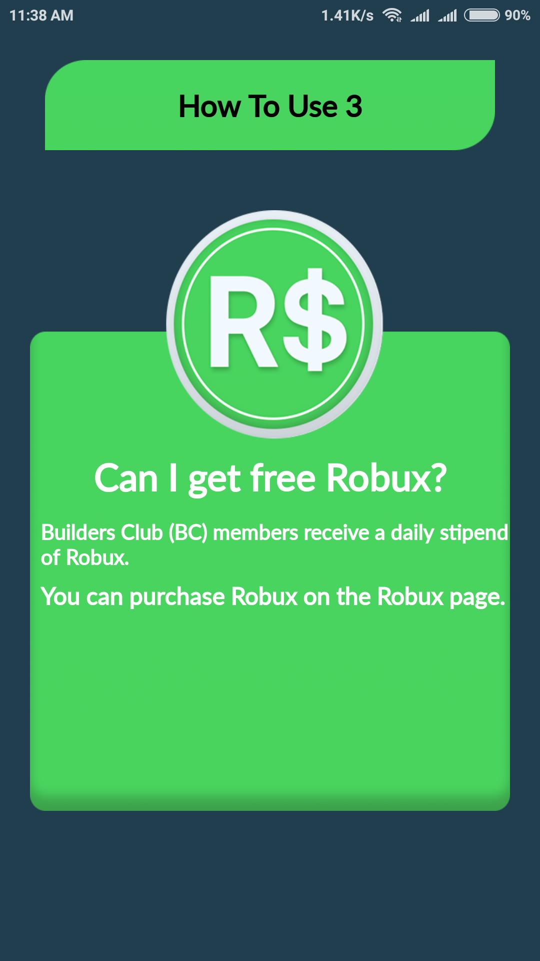 Free Robux Counter Get Free Robux Counter Tips For Android Apk