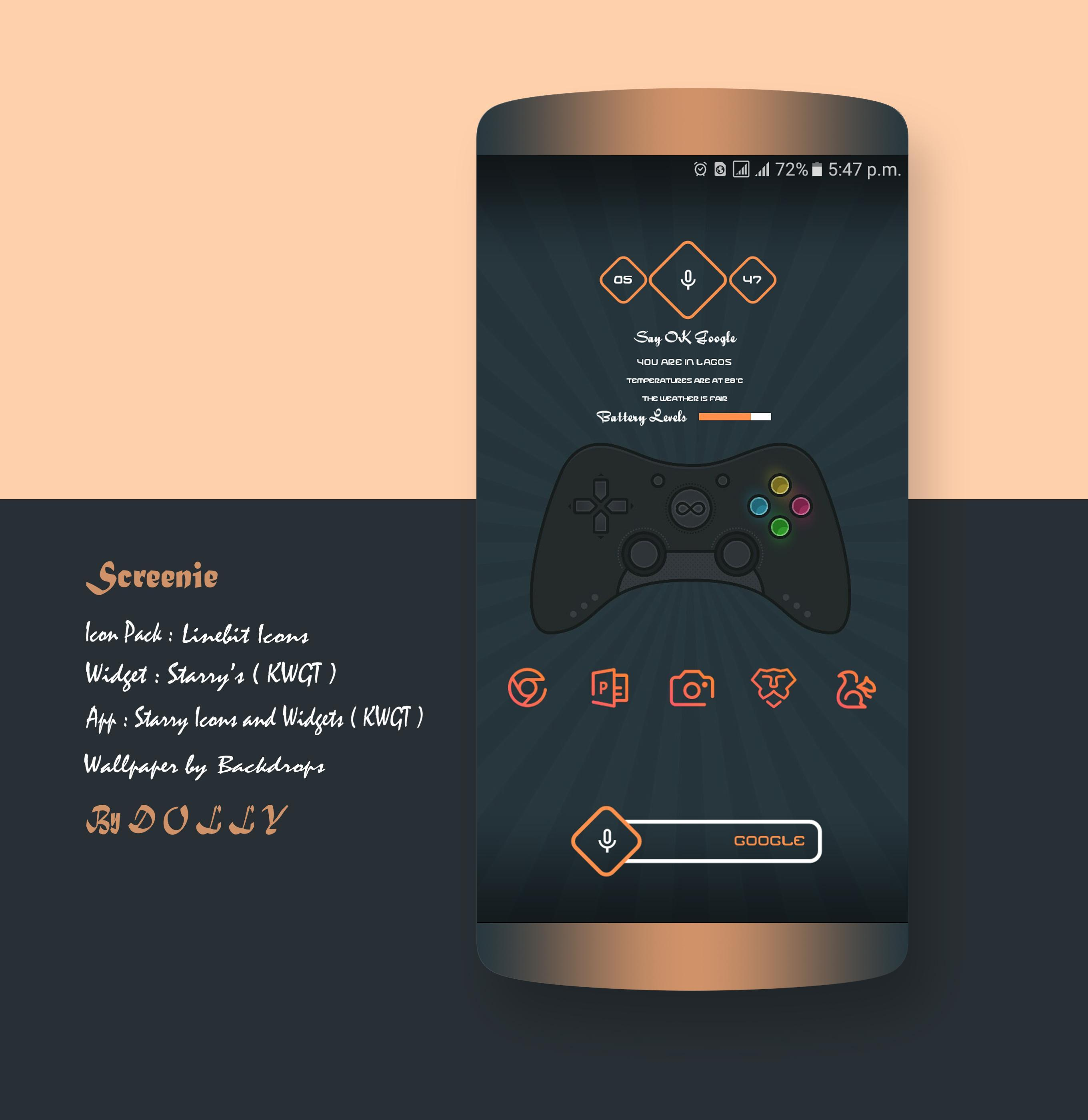 Starry Icons and Widgets ( KWGT )  for Android - APK Download