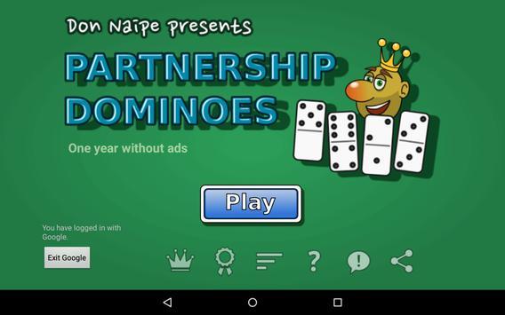 Partnership Dominoes screenshot 17