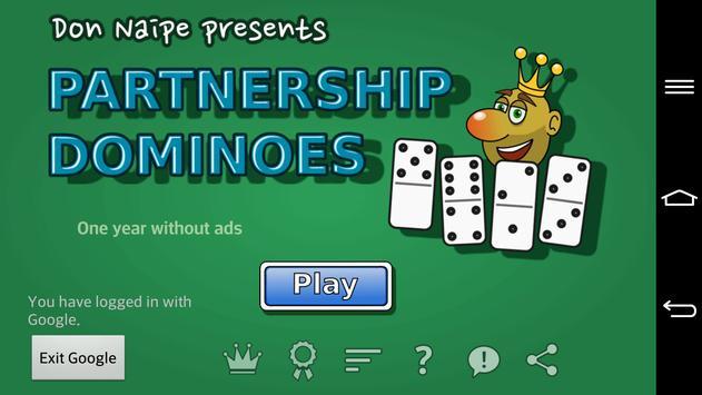 Partnership Dominoes screenshot 4