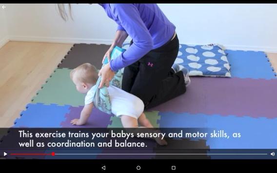Baby Exercises & Activities - Baby Development App screenshot 8