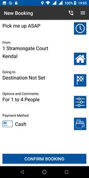 Blue Star Taxis screenshot 1