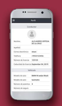 Taxímetro Colectivo screenshot 4