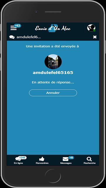 Live messagerie instantanée de rencontres