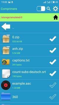 5 Schermata File manager, deposito personale per Google Drive