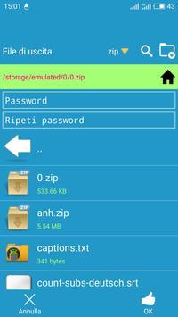 6 Schermata File manager, deposito personale per Google Drive