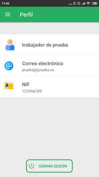 Tu Horario Laboral screenshot 2