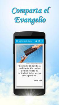 Versiculos Biblicos Diarios en Español Gratis captura de pantalla 1
