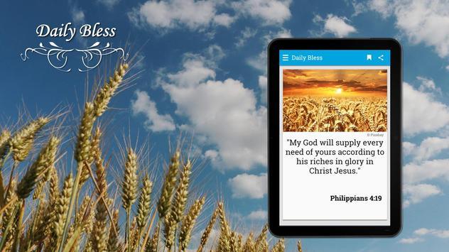 Daily Bible Verses and Prayers in English screenshot 7
