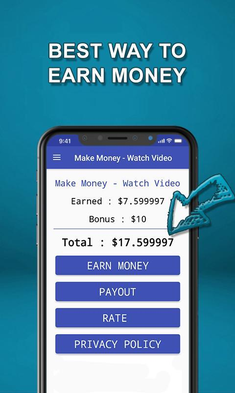 watch video and earn money make money watch video for android apk download 4483