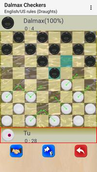 Checkers by Dalmax screenshot 6