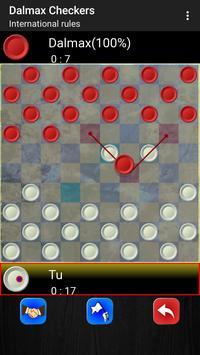 Checkers by Dalmax screenshot 1