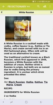 Food & Beverage Dictionary screenshot 1