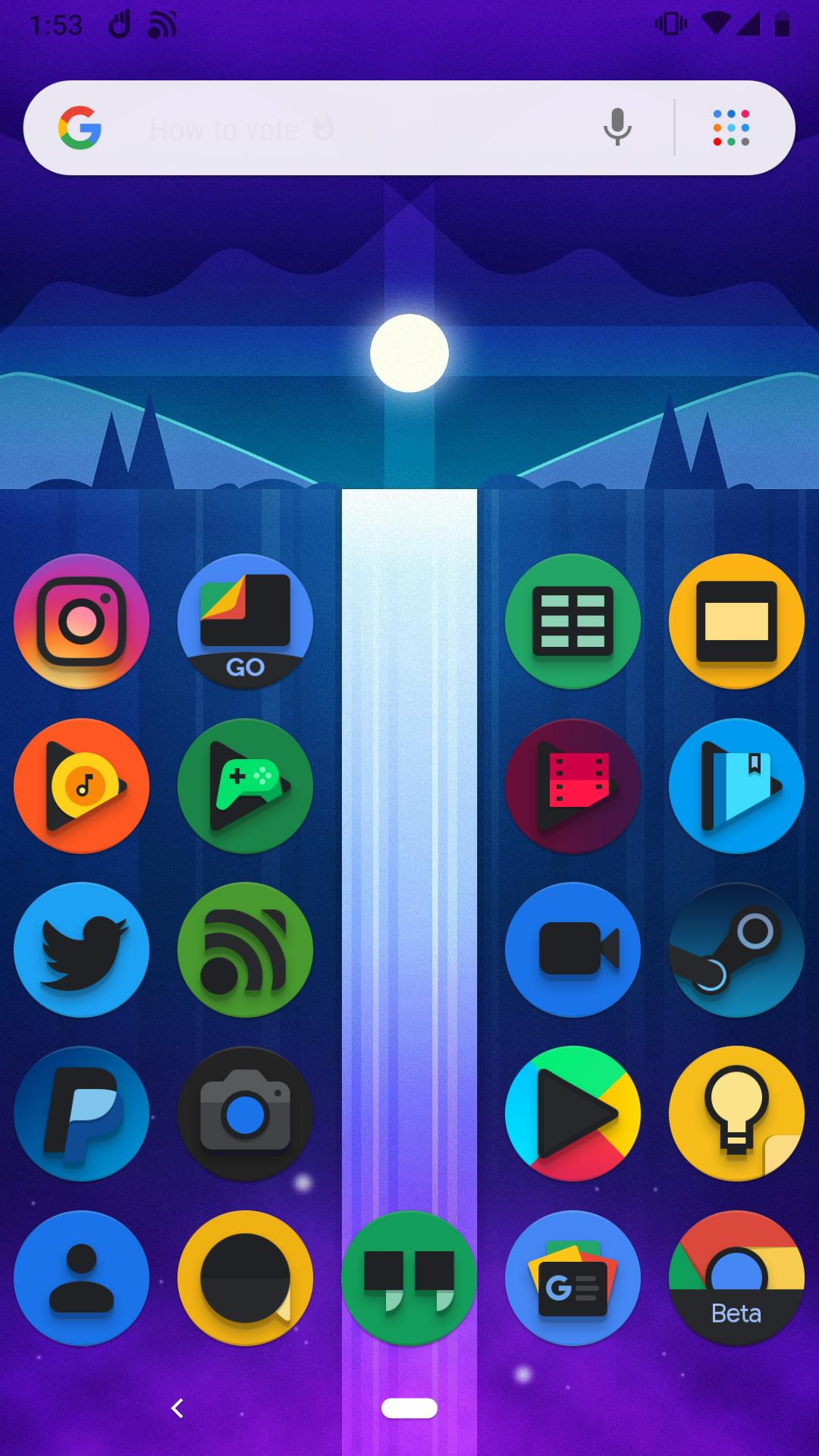 Baked - Dark Android Pie Icon Pack for Android - APK Download