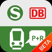 DB Park+Ride icon