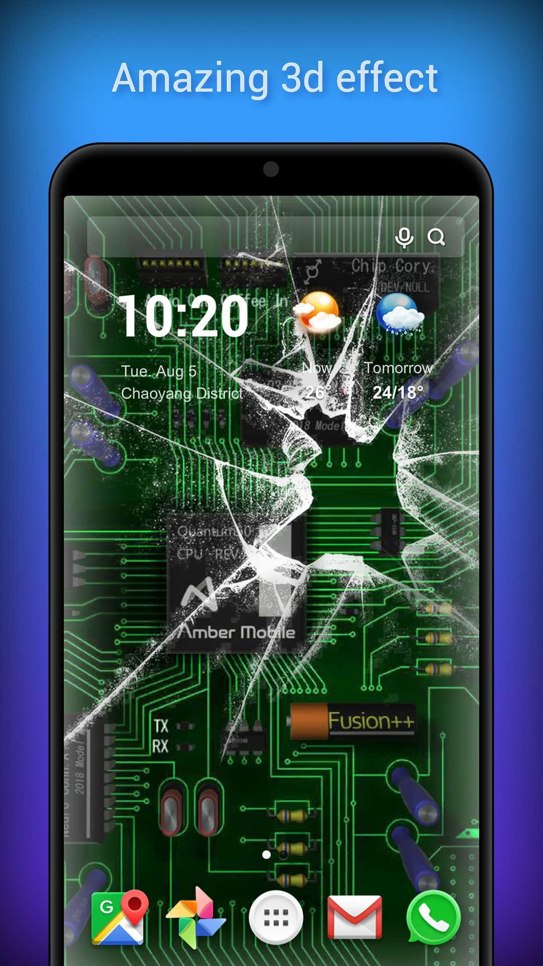 3d Parallax Live Wallpaper Hd Animated Background For Android