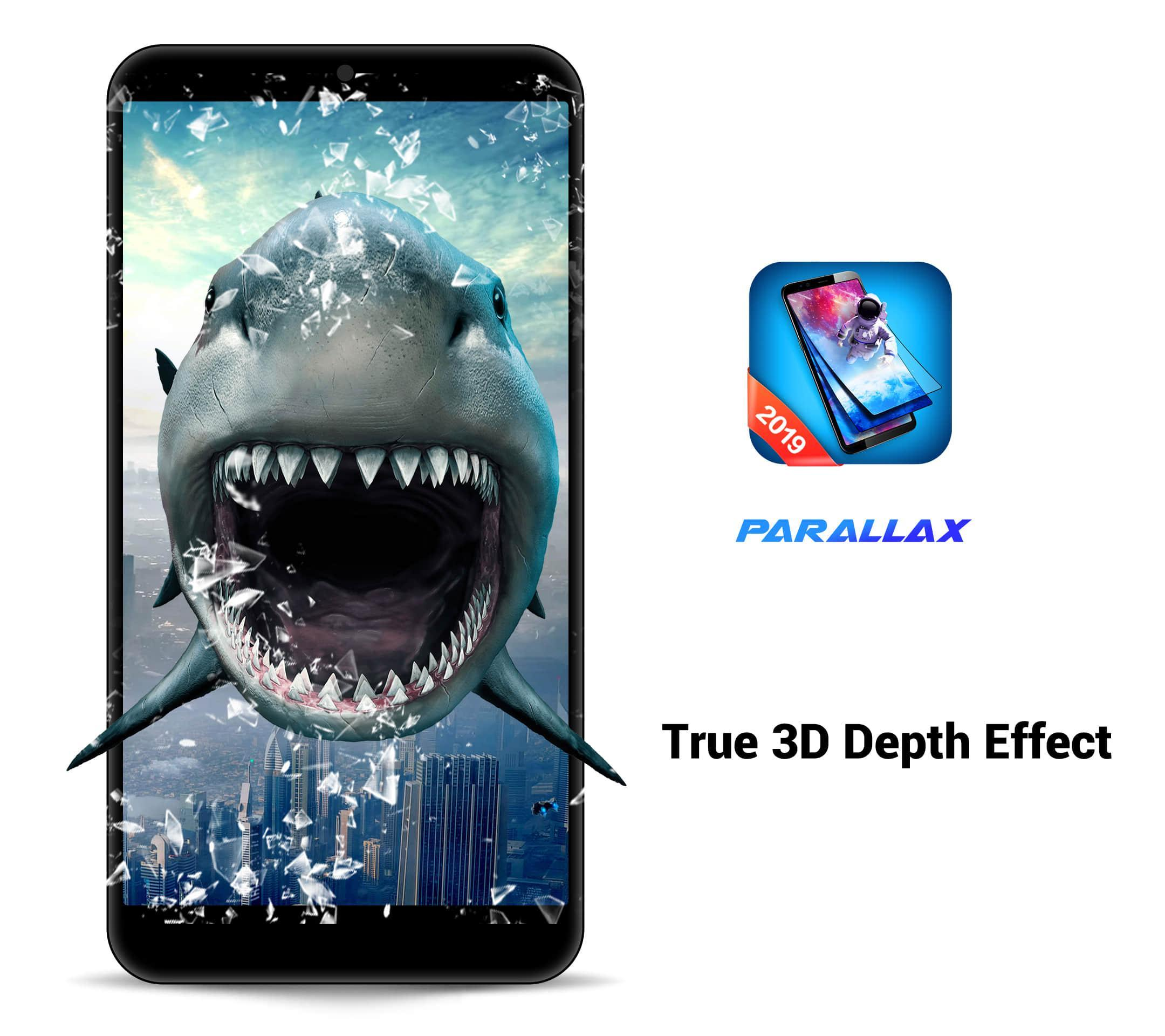 3D Parallax Live Wallpaper -HD Animated Background for