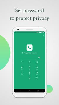 DC Call Recorder-protect privacy and pin lock स्क्रीनशॉट 2
