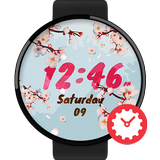 CherryBlossom Watchface by Kallos