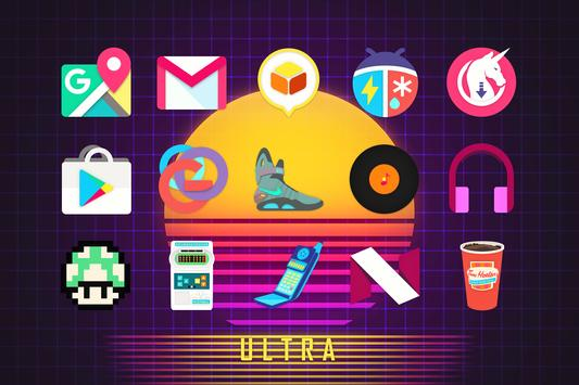 ULTRA - 80s Icon Pack syot layar 8