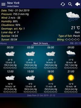 Fishing forecast screenshot 8