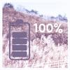 Batterij volledig is opgeladen alarm-icoon