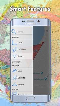 Calcul de terrains et de distances capture d'écran 2