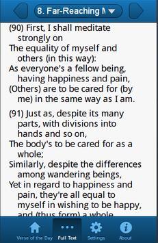 Shantideva Verses screenshot 1