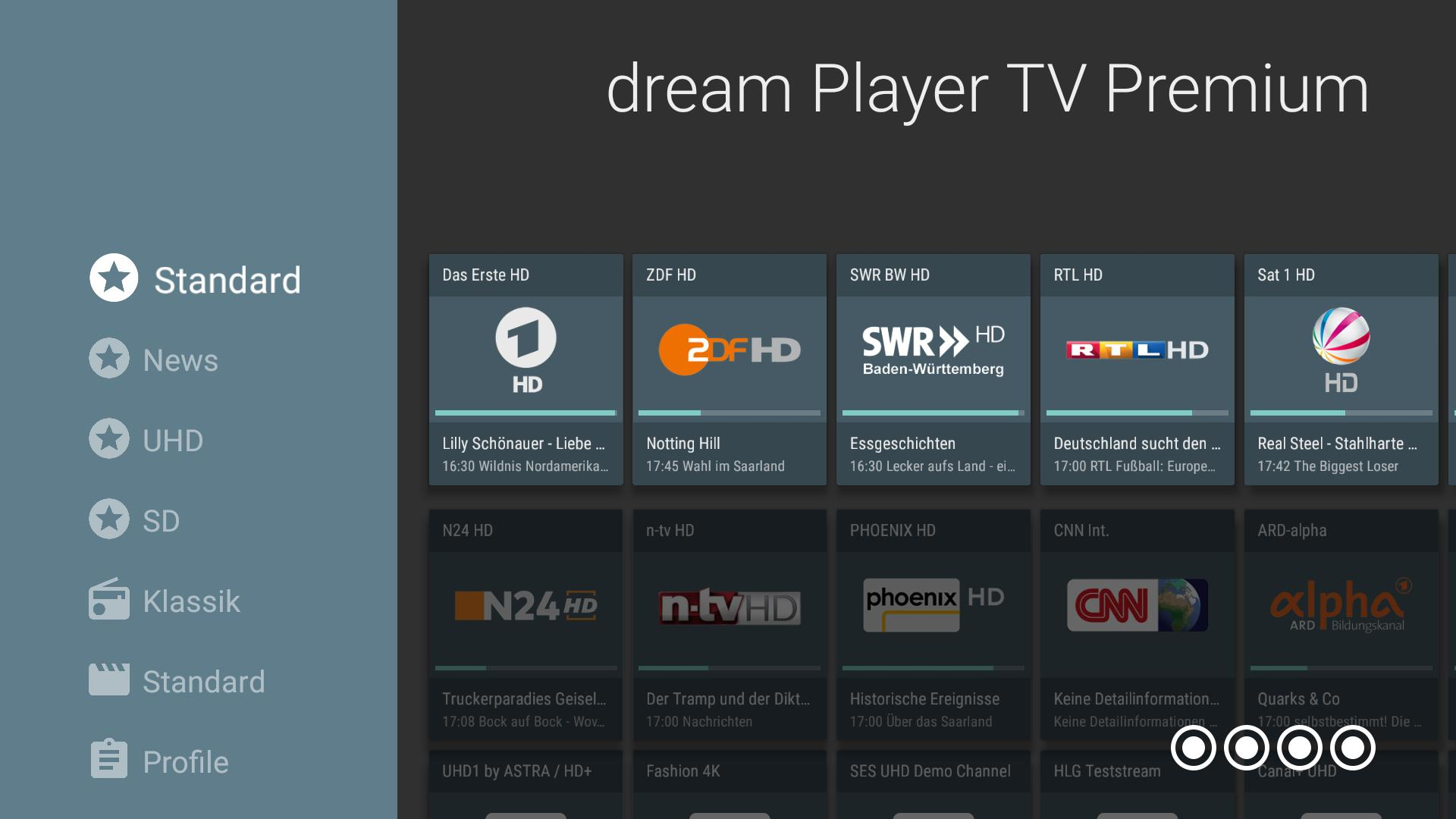 dream Player TV for TVheadend for Android - APK Download