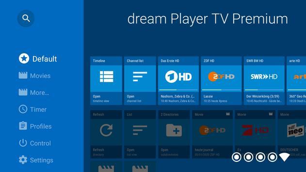 dream Player TV for TVheadend screenshot 1