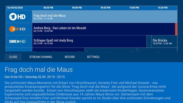 dream Player TV for TVheadend screenshot 3