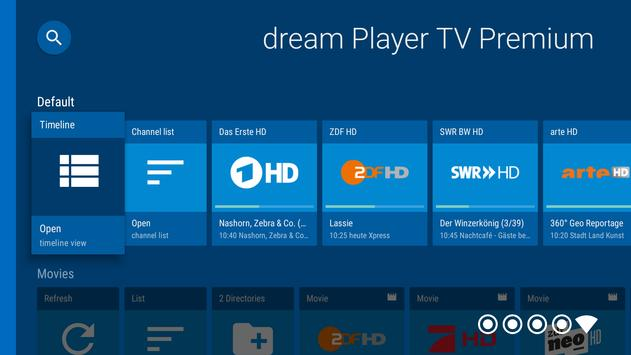 dream Player IPTV for Android TV screenshot 14