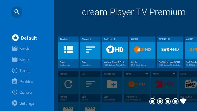 dream Player IPTV for Android TV screenshot 1