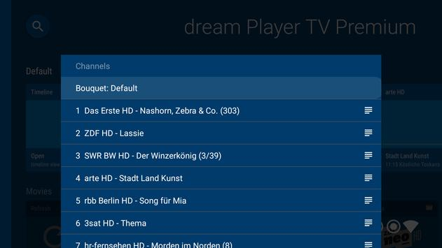 dream Player IPTV for Android TV screenshot 4