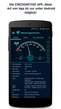 Network Signal Info Plakat