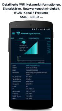 Network Signal Info Screenshot 1