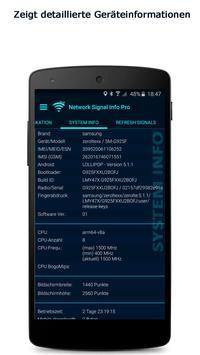 Network Signal Info Screenshot 4
