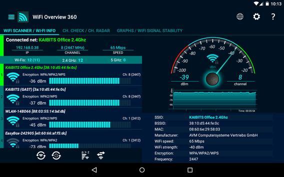 WiFi Overview 360 Ekran Görüntüsü 8
