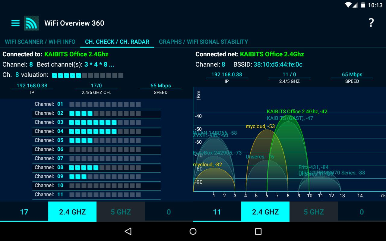 WiFi Overview 360 for Android - APK Download
