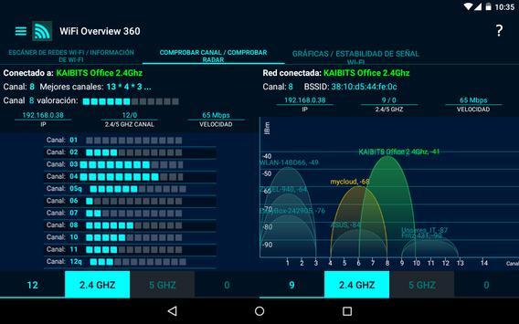 WiFi Overview 360 captura de pantalla 9