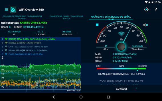 WiFi Overview 360 captura de pantalla 10